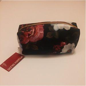 NWT Sonia Kashuk Makeup Bag - Flower Print